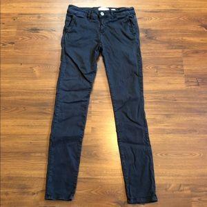 Anthropologie Hei Hei Skinny Pants in Dark Gray